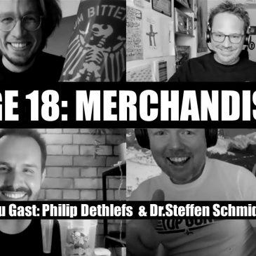 WunschWort.fm Folge #18: Merchandising (mit Dr. Steffen Schmidt & Philip Dethlefs) (S03E02)